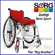Дитяче крісло-візок активного типу Sorg Jump Beta Sport Active Wheelchair