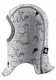 Шапка-шлем Moomin Rolig 518571-0111, фото 2