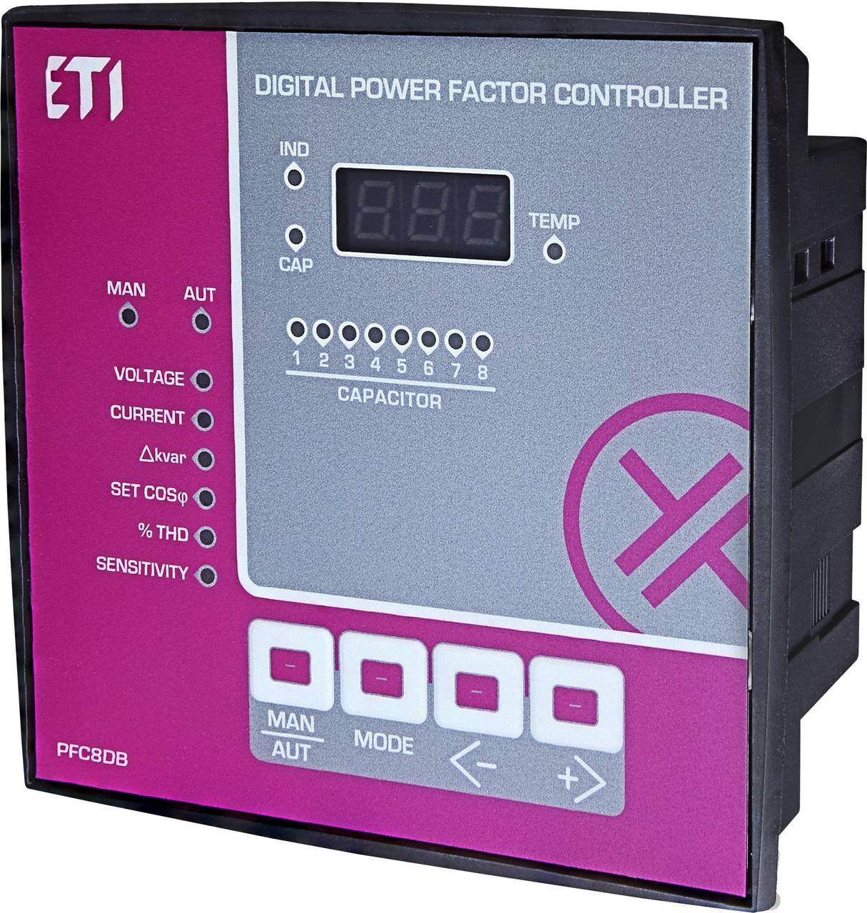 PFC 8DB ETI регулятор реактивной мощности