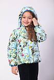 Куртка-жилет демисезонная для девочки, фото 3
