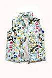 Куртка-жилет демисезонная для девочки, фото 7