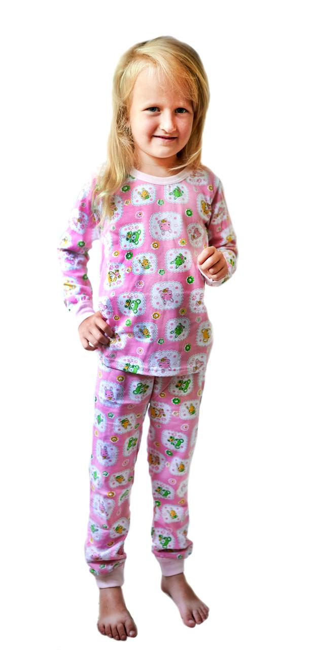 Пижама Для девочек Разноцветный Размеры: 104,110,116,122,128,134