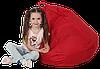 Кресло-мешок Груша Хатка средняя Красная (подростковая), фото 2