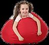 Кресло-мешок Груша Хатка средняя Красная (подростковая), фото 3