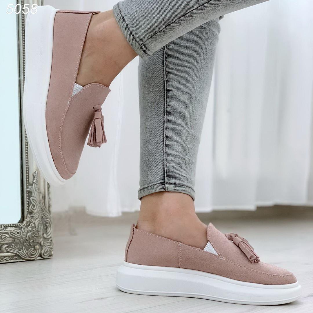 Светло розовые туфли 5058 (ВБ)