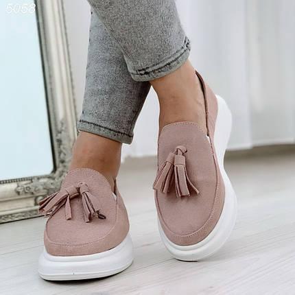 Светло розовые туфли 5058 (ВБ), фото 2