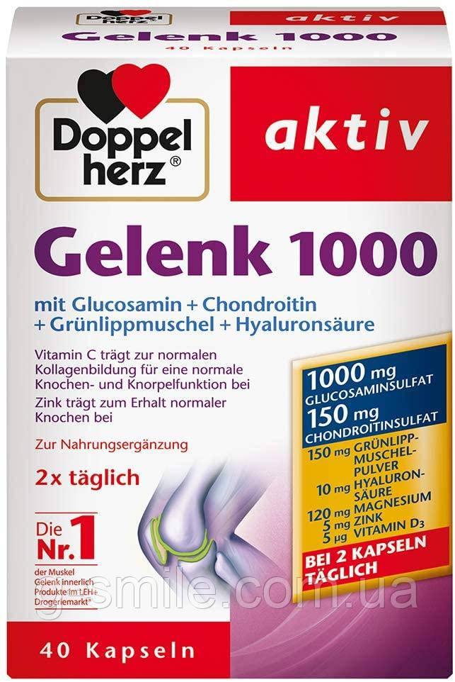 Doppelherz Gelenk 1000 – Mit Vitamin C