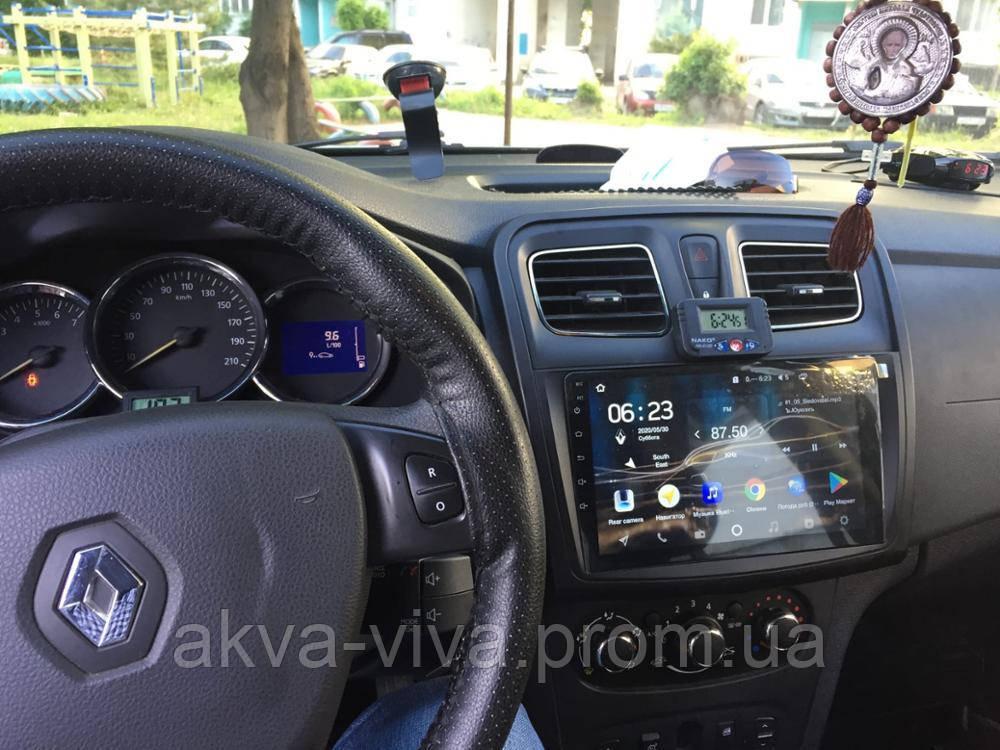 Штатна магнітола для Dacia Logan 2014-2017 на базі Android 8.1