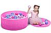 Бассейн для дома сухой, детский, розовый, фото 2