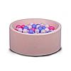 Бассейн для дома сухой, детский, нежно-розовый, фото 2
