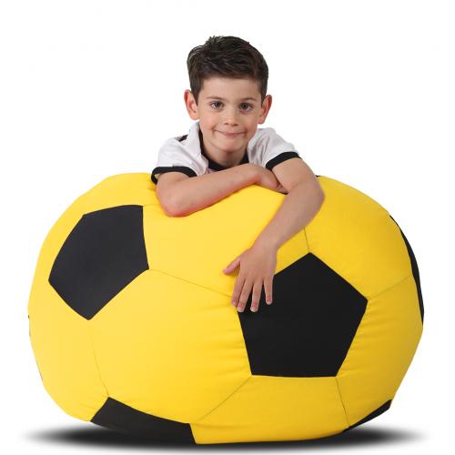 Кресло-мяч детский Желтый с черным