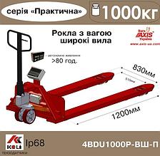 Весы-рокла 4BDU1000Р-ВШ-П Практический ( С широкими вилами)
