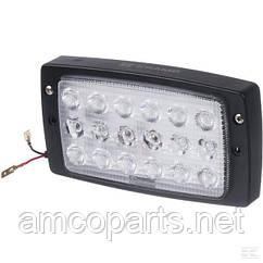 Ліхтар робочий світлодіодний 27 Вт, 3375 Лм, роз'єм combo