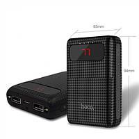 Power Bank (Внешний аккумулятор ) Hoco B20 Mige 10000 mAh Black
