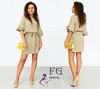 """Короткое свободное платье большого размера """"Fiona"""""""