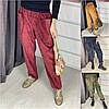Р 42-52 вільні штани Вельветові Батал 22416-1