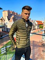Чоловіча зимова куртка хакі, фото 1