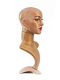 Манекен-бюст голова с макияжем, фото 3