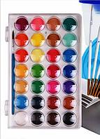 Акварельные краски XinBowen, 28 цветов+ кисточка.