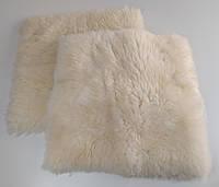 Натуральная накидка из овeчьeй шерсти, 50 см * 50 см.