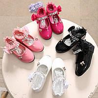 Туфлі в школу на дівчинку, туфельки для дівчинки, рр. 21-34