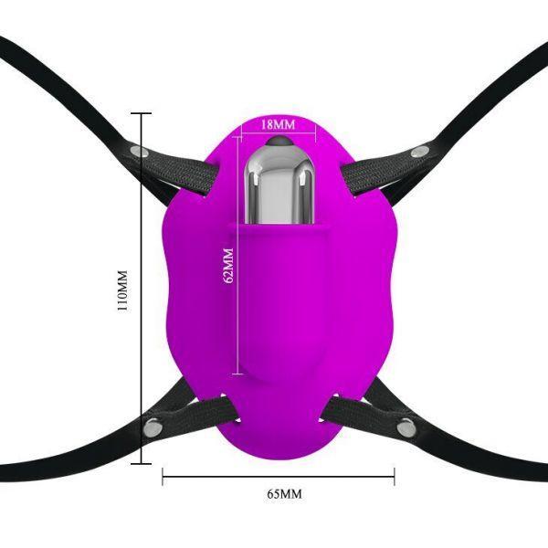 Вибромассажер-бабочка
