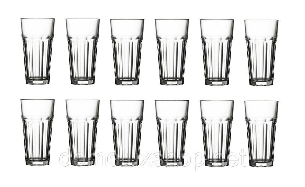 Pasabahce Casablanca Набор стаканов 12*475 мл (52707)