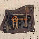 Вал дополнительный с кронштейном КПП ЮМЗ 8280 75-1701020-Б, фото 2