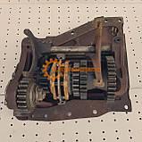 Вал дополнительный с кронштейном КПП ЮМЗ 8280 75-1701020-Б, фото 3