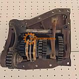 Вал дополнительный с кронштейном КПП ЮМЗ 8280 75-1701020-Б, фото 7