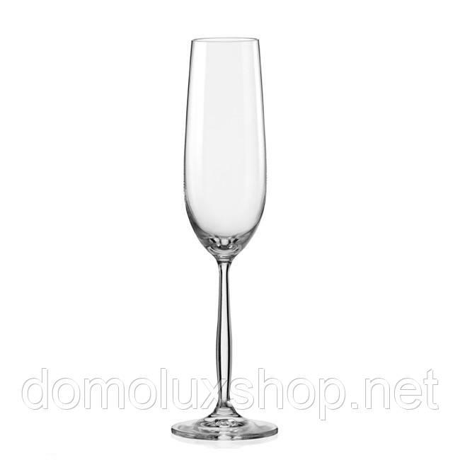 Bohemia Cindy Набор бокалов для шампанского 6*190 мл (40754)