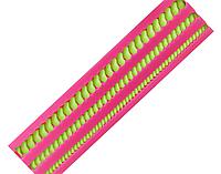 Молд силиконовый Бордюр Шнур 2, 19,2*4,8*1 см.