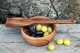 Кухонная деревянная лопатка для дома, ресторана, кафе (именная)  для приготовления
