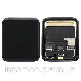 Экран (дисплей) Apple Watch 3 42mm LTE с тачскрином (сенсором) черный