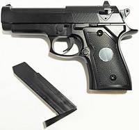 Железный Пистолет с Пластмассовыми Пульками