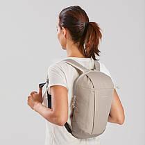 Городской школьный детский рюкзак Quechua Arpenaz на 10 литров Бежевый (8551454), фото 3