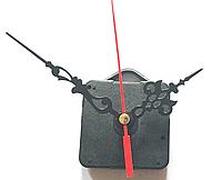 Часовой механизм с подвесной петлей со стрелками. Шток 17 мм.