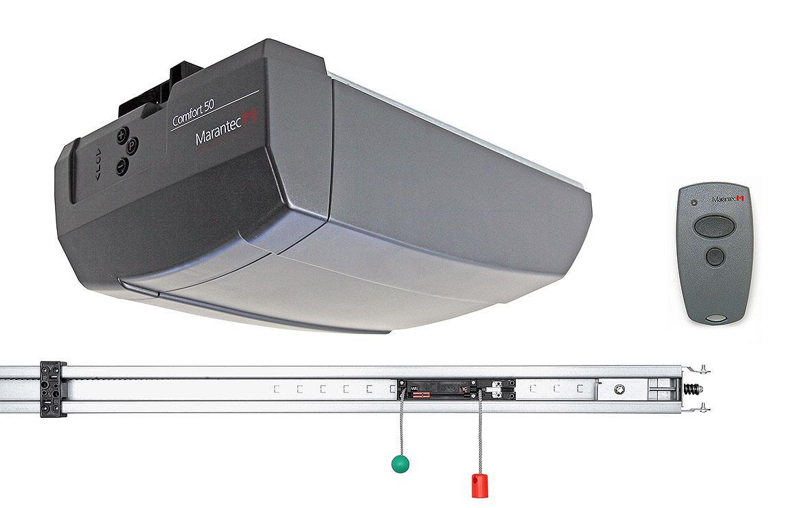 Автоматика гаражних воріт Marantec Comfort 60L для воріт до S=9,0 м2 і висота 3,085 м.