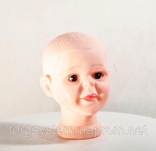 Манекен дитячий голова силіконова