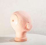 Манекен детский голова силиконовая, фото 4