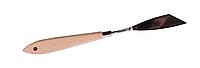 Высококачественный мастихин из нержавеющей стали с деревянной ручкой