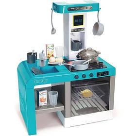 Интерактивная кухня Шеф с эффектом кипения голубая