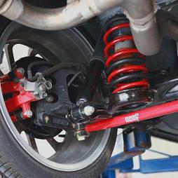 Замена пружин подвески легкового автомобиля