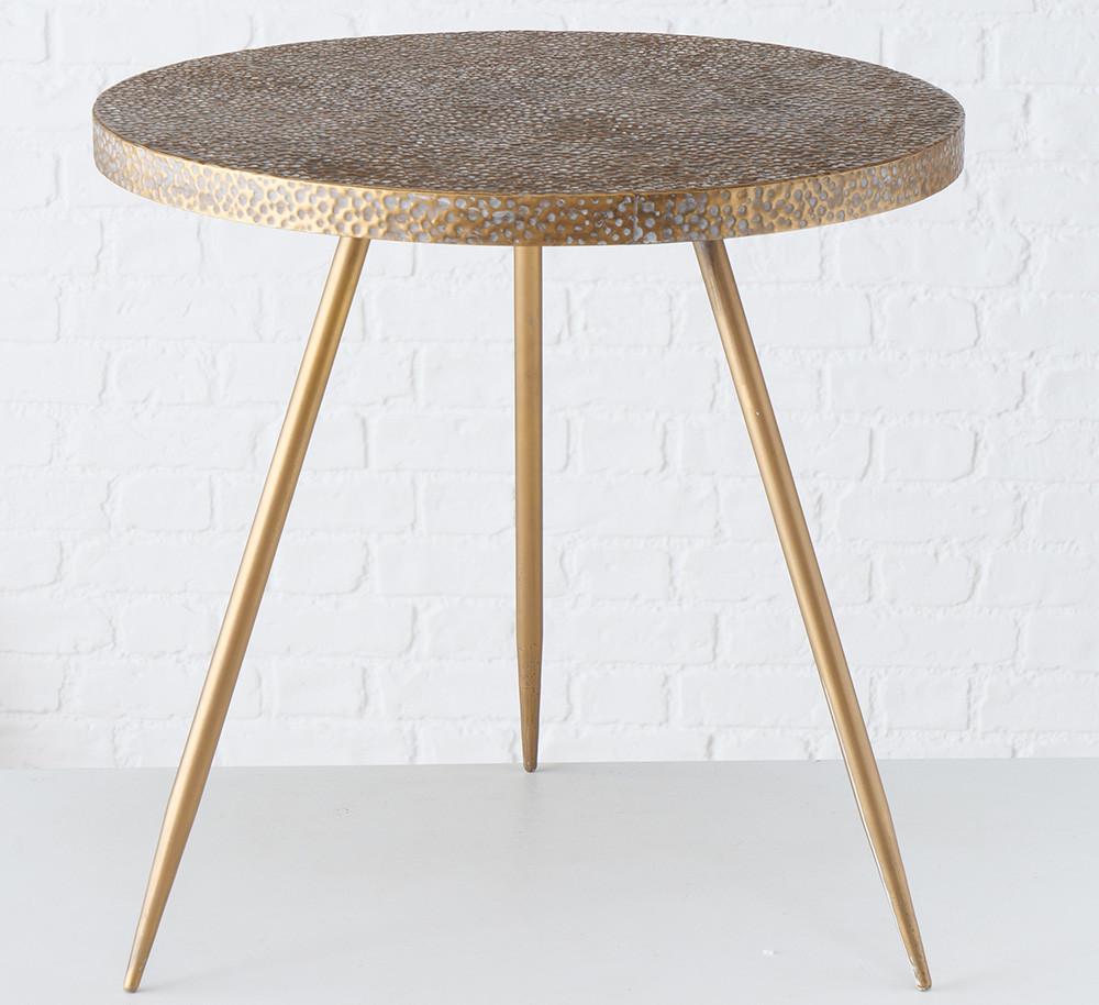 Журнальный стол Cordoba H 55 см, D 55 металл золото 2006105