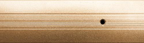 Порог алюминиевый 19А 0,9 метра золото 3х40мм скрытое крепление
