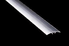 Порог алюминиевый 19А 1,8 метра дуб белый 3х40мм скрытое крепление, фото 3