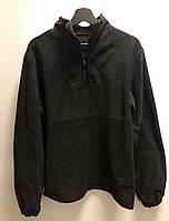РАСПРОДАЖА!!! Флисовая мужская кофта, толстовка размер 2ХЛ, цвет черный
