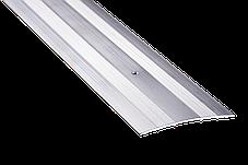 Порог для пола алюминиевый 11А 0,9 метра дуб беленый 3х80мм алюминиевый, фото 2