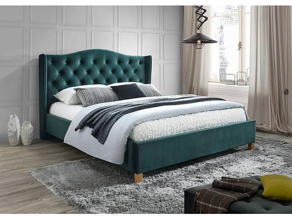 Кровать ASPEN VELVET 180 зеленый (Signal), фото 2