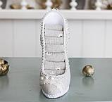 Подставка ажурная туфелька GM143-31008, фото 2